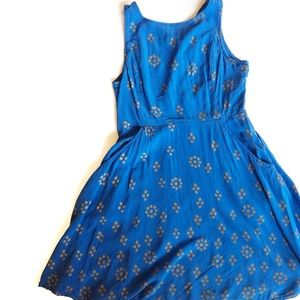 FREE PEOPLE Open Back Mini Dress